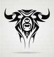 Taurus Tattoo Design vector image