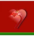 Valentines Day Card design EPS10 vector image