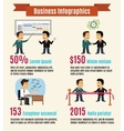 Business infographic set vector image vector image