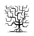 Tree trunk isolated for your design vector image vector image