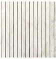 White wood board background vector image vector image
