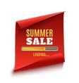 big summer sale loading poster vector image