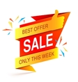 Sale Event Banner vector image