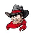 Texas cowboy vector image vector image