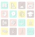 education seamless school pattern vector image