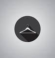 Hanger symbol flat vector image