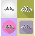 sport flat icons 35 vector image