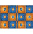 texture grain orange and blue vector image