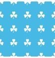 Clover straight pattern vector image