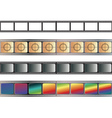 Old Film Tape vector image