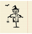 Halloween night symbol for your design vector image vector image