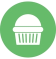 Chocolate Muffin vector image