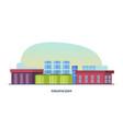 industrial building of plant interior exterior vector image