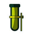 test tube chemistry vector image