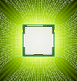 Technology abstract background vector image