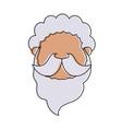 man avatar head icon image vector image