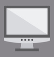 monitor design vector image