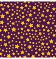 Seamless pattern with star vector image