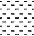 London double decker bus pattern simple style vector image