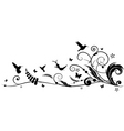humming bird design vector image vector image