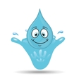 water character design vector image