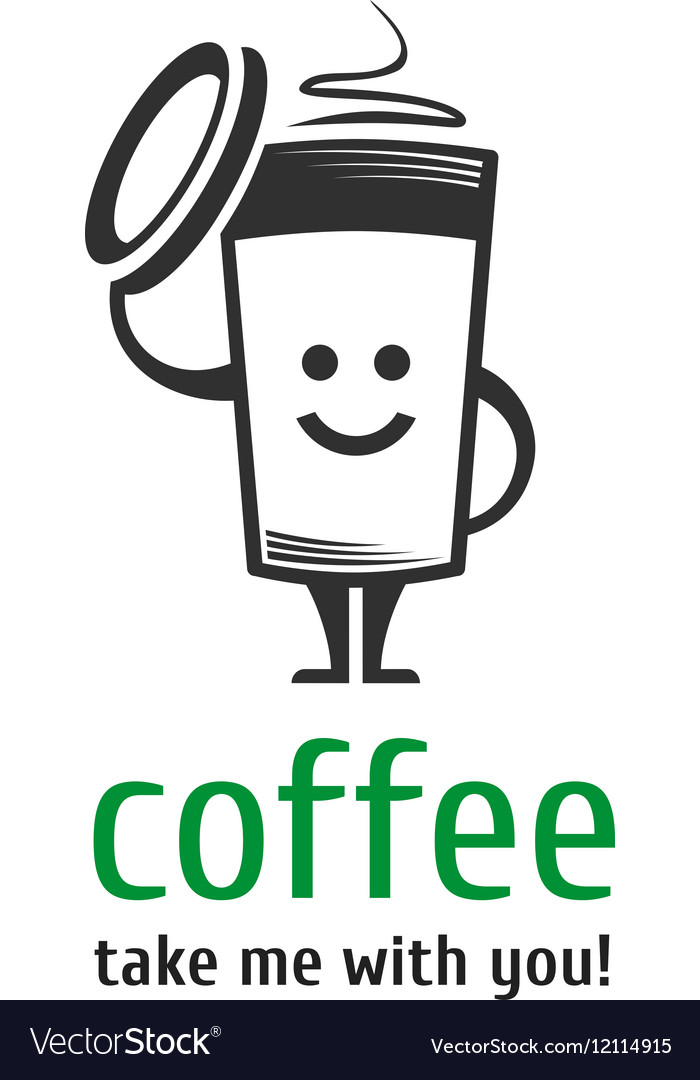 Coffee logo template vector