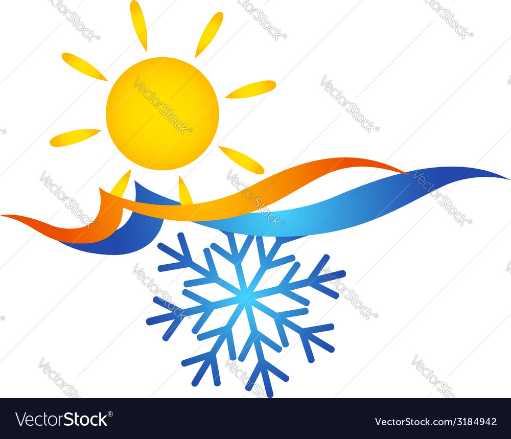 Air conditioning symbol vector