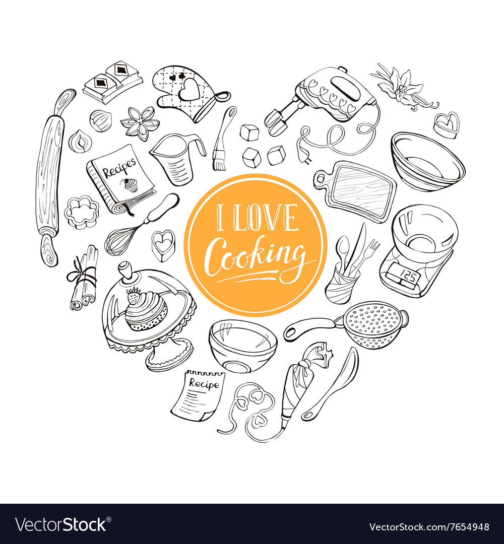 Cooking poster vector