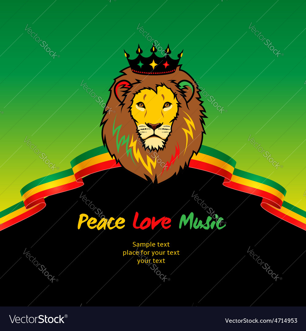 Flag background rasta vector