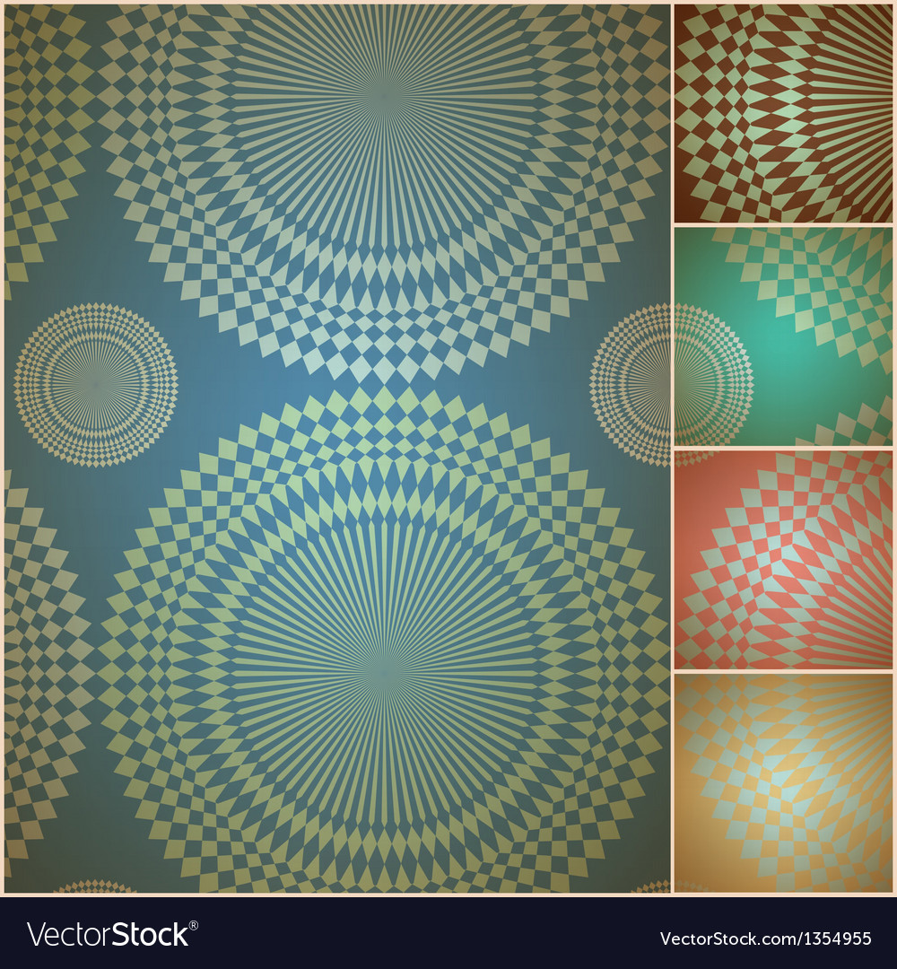 Seamless geometric background wall paper vector