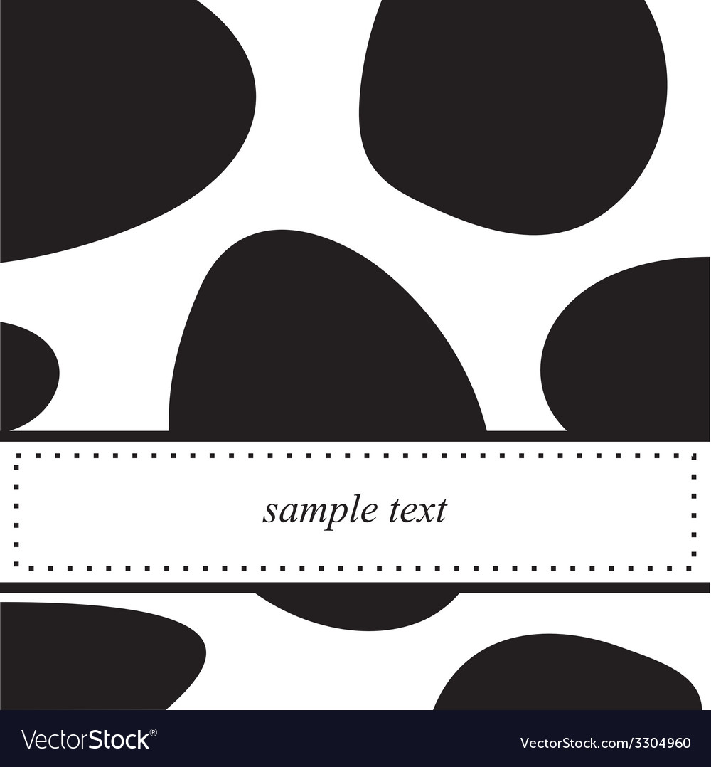 Black and white pop art card or invitation vector