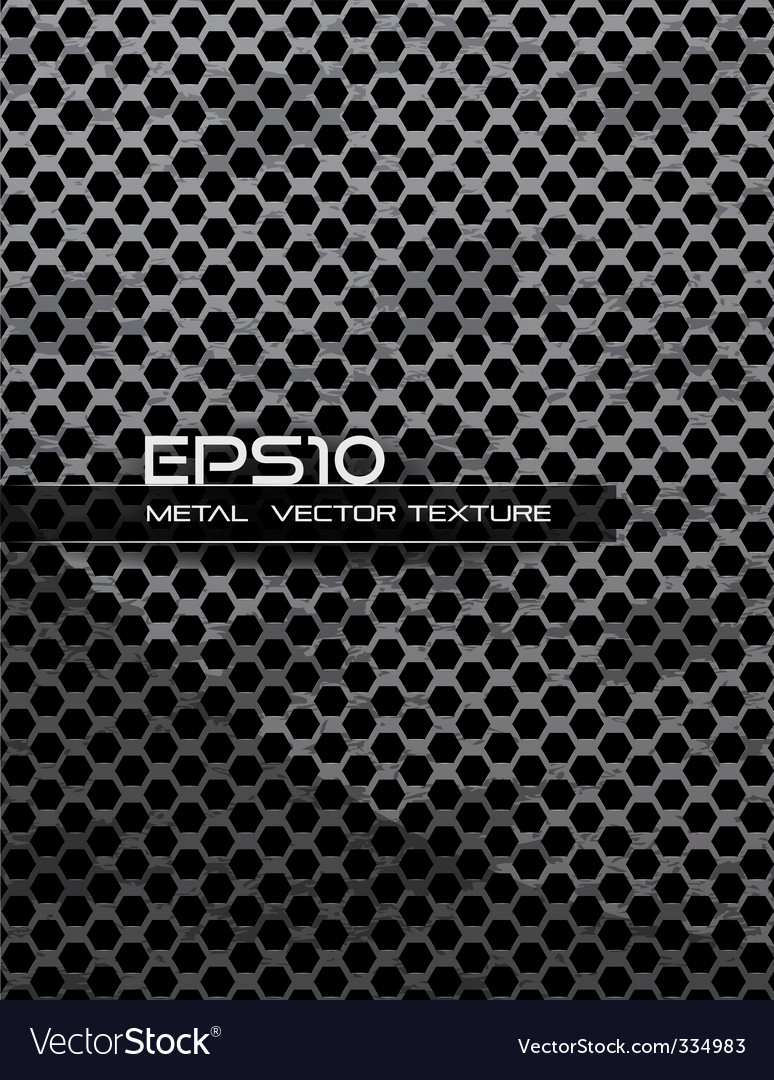 Industrial metal texture vector