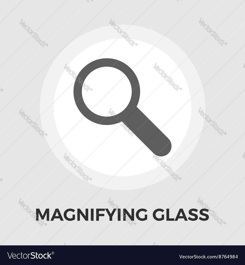 Search flat icon vector