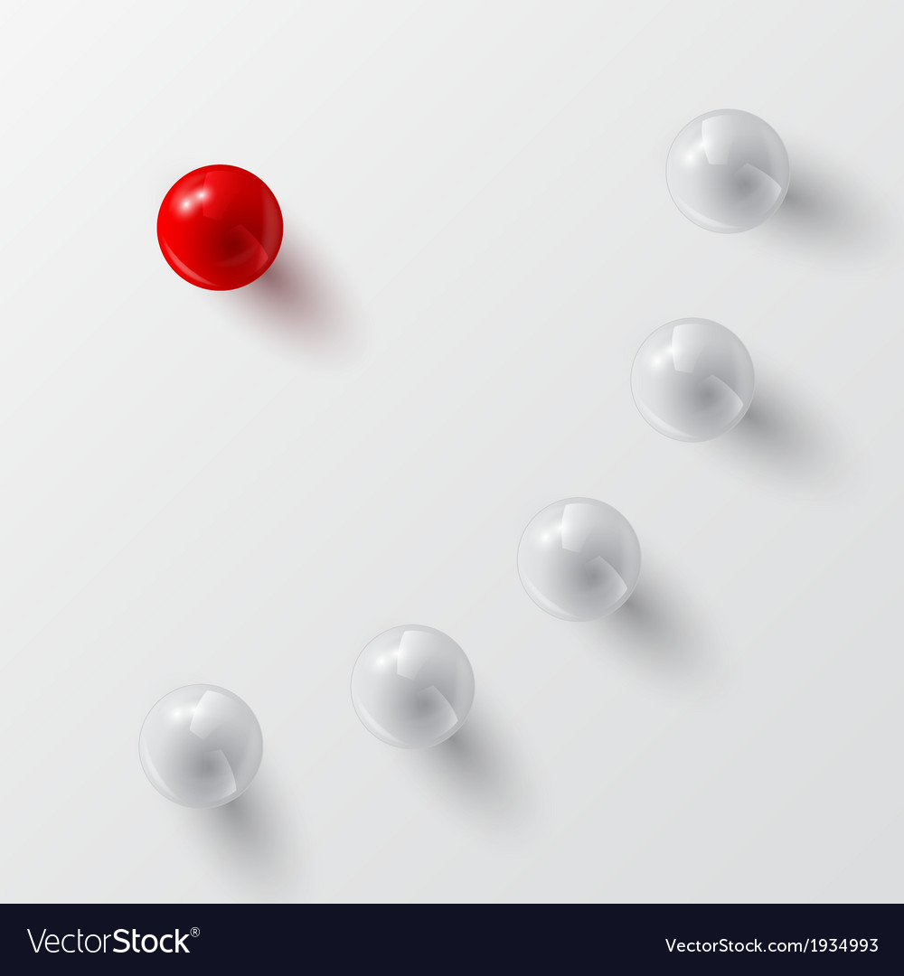Balls background 2 vector