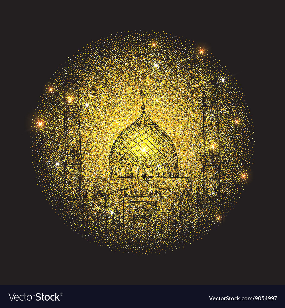 Islamic holiday ramadan vector