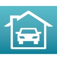 garage service vector image