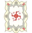 swastika ganesha vector image vector image