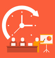 time business presentations vector image