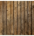 Dark wood board background vector image vector image
