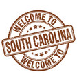 welcome to south carolina vector image