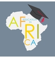 Business School Education in Africa Concept vector image