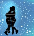 love dance vector image