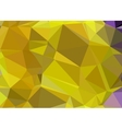 Polygonal abstract background low poly gold and vector image