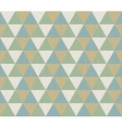 Geometric seamless background with triangles vector image