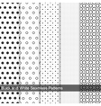 Dots simple patterns seamless vector image