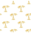 Pattern with palms vector image
