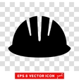 Builder Helmet Eps Icon vector image