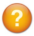 Orange problem icon vector image vector image