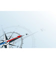compass east background vector image