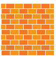 Brick background vector image